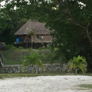 House on road between Orange Walk and Belize City.