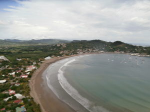 Looking down over San Juan del Sur